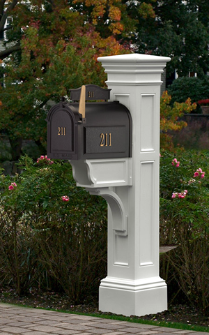 Add a fresh mail box to your front yard