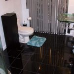 Gorgeous remodeled guest bathroom