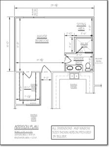 Design Build Master Bedroom Floor Plan
