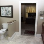 Beautiful remodeled bathroom for independent living