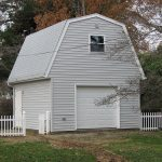 Detached garage with storage